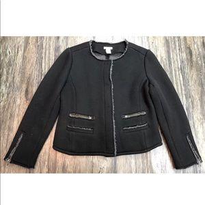 Sundance Knit Black Blazer